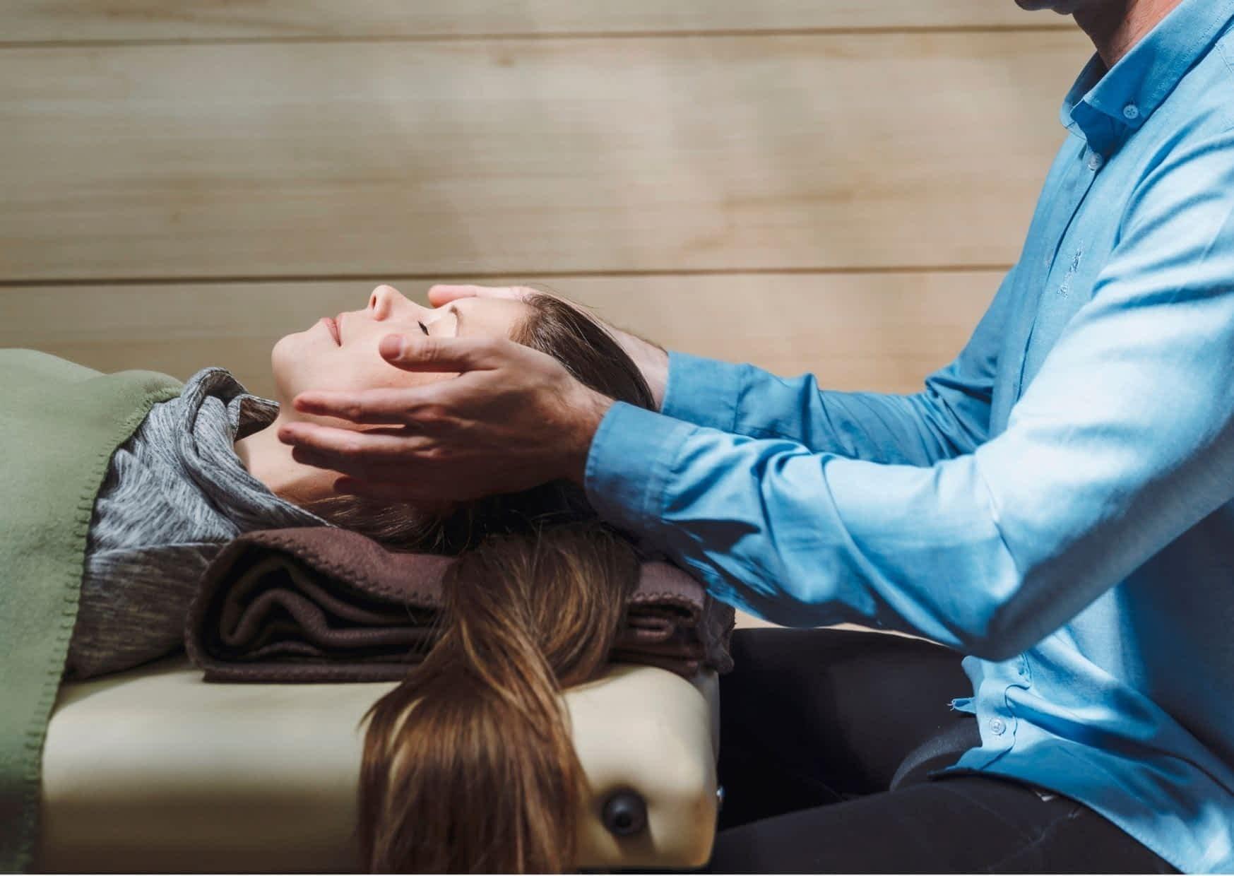 Craniosacral-Therapie bei Erwachsenen