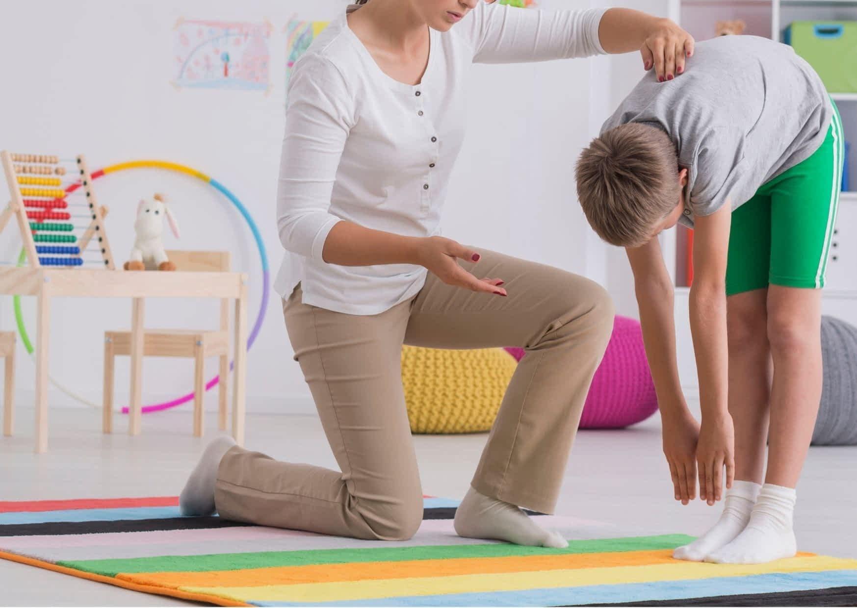 Skoliose-Therapie bei Kindern