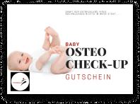 Gutschein Baby Osteo Check-Up